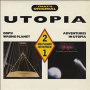 Click here for more info about 'Utopia (US) - That's Original - Oops! Wrong Planet/Adventures In Utopia'
