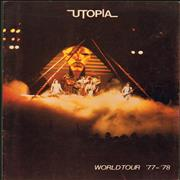 Click here for more info about 'Utopia (US) - World Tour '77-'78'