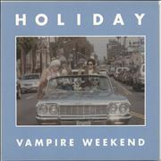 Click here for more info about 'Vampire Weekend - Holiday'