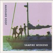 Click here for more info about 'Vampire Weekend - Mansard Roof'