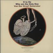 Click here for more info about 'Van Der Graaf Generator - H To He, Who Am The Only One - 180 Gram'