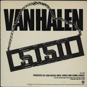 Click here for more info about 'Van Halen - 5150 - Fifty One Fifty'