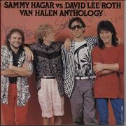 Click here for more info about 'Van Halen - Anthology - Sammy Hagar Vs David Lee Roth + Sticker sheet'