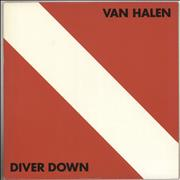 Click here for more info about 'Van Halen - Diver Down'