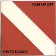Van Halen Diver Down Japan vinyl LP Promo