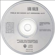 Click here for more info about 'Van Halen - Feels So Good'
