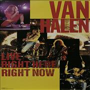 Click here for more info about 'Van Halen - Live: Right Here, Right Now'