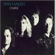 Van Halen OU812 UK vinyl LP