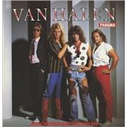 """Van Halen Panama UK 12"""" vinyl"""