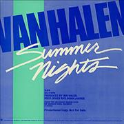Click here for more info about 'Van Halen - Summer Nights'