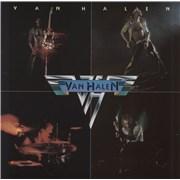 Van Halen Van Halen - Cream Label Germany vinyl LP
