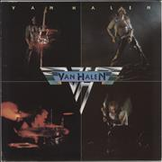 Van Halen Van Halen - Cream Label Germany vinyl LP