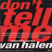 Click here for more info about 'Van Halen - What Love Can Do'