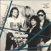 Click here for more info about 'Van Halen - When It's Love + Patch'