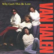 "Van Halen Why Can't This Be Love - Inj + P/S UK 7"" vinyl"