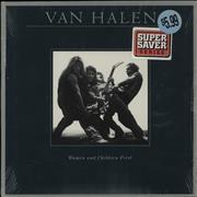 Click here for more info about 'Van Halen - Woman And Children First'