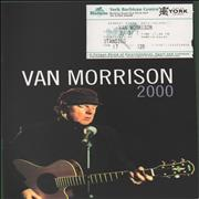 Click here for more info about 'Van Morrison - 2000 Tour + Ticket Stub'