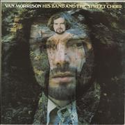 Click here for more info about 'Van Morrison - His Band And The Street Choir - cream label'