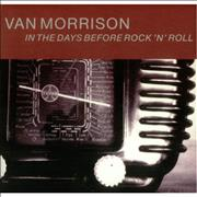 Click here for more info about 'Van Morrison - In The Days Before Rock N Roll'