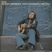 Van Morrison Saint Dominic's Preview - 1st + Insert UK vinyl LP