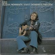 Van Morrison Saint Dominic's Preview - cream label UK vinyl LP