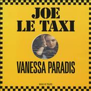 Click here for more info about 'Vanessa Paradis - Joe Le Taxi - Picture Label'