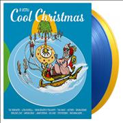 Click here for more info about 'Various Artists - A Very Cool Christmas - 180gm Blue & Yellow Vinyl - Numbered'