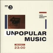 Click here for more info about 'Various Artists - BBC Late Junction Sessions - (Un)Popular Music'
