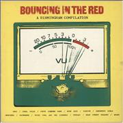 Click here for more info about 'Various-Punk & New Wave - Bouncing In The Red: A Birmingham Compilation - EX'
