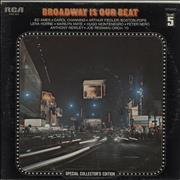 Click here for more info about 'Broadway Is Our Beat (Volume 5)'