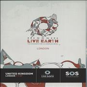 Click here for more info about 'Various Artists - Live Earth - The Concerts For A Climate In Crisis + ticket stub'