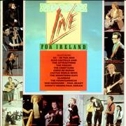 Click here for more info about 'Various Artists - Live For Ireland - Gold promo stamped'