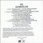 Click here for more info about 'Various Artists - Mtv 120 Minutes Live'