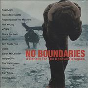 Click here for more info about 'Various Artists - No Boundaries - A Benefit For The Kosovar Refugees'