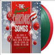 Click here for more info about 'Various Artists - The Greatest Christmas Songs - 180gm Green & Red Vinyl + Numbered'