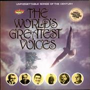 Click here for more info about 'Various Artists - The World's Greatest Voices'