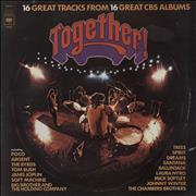 Click here for more info about 'CBS Records - Together - Blue Vinyl + Newspaper'