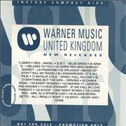 Click here for more info about 'Various Artists - Warner Music Promo Cd #103'
