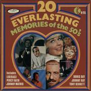 Click here for more info about 'Various-50s/Rock & Roll/Rockabilly - 20 Everlasting Memories Of The 50's'
