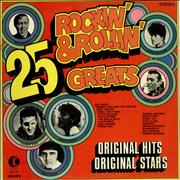 Click here for more info about 'Various-50s/Rock & Roll/Rockabilly - 25 Rockin' & Rollin' Greats'