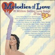 Click here for more info about 'Various-50s/Rock & Roll/Rockabilly - Melodies Of Love - 16 Million Selling Love Songs Of The 50's'