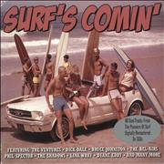 Click here for more info about 'Various-50s/Rock & Roll/Rockabilly - Surf's Comin''