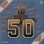 Click here for more info about 'Various-50s/Rock & Roll/Rockabilly - 16 Big Hits Of The 50's'