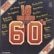 Click here for more info about 'Various-60s & 70s - 16 Big Hits Of The 60's'