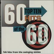 Various-60s & 70s 60 Top Ten Hit Of The 60s UK 3-LP vinyl set