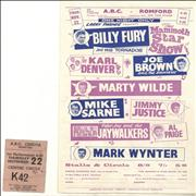 Click here for more info about 'Various-60s & 70s - ABC Romford Handbill + Ticket Stub'