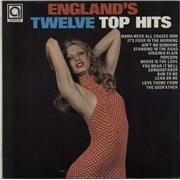 Various-60s & 70s England's Twelve Top Hits UK vinyl LP