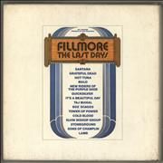 Click here for more info about 'Various-60s & 70s - Fillmore - The Last Days'