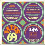 Various-60s & 70s Hits '69 UK vinyl LP