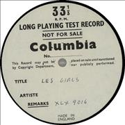 Click here for more info about 'Various-60s & 70s - Les Girls - Side 1 Test Pressing'